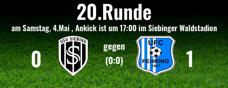 Heimspiel gegen Pertlstein/Fehring II verloren