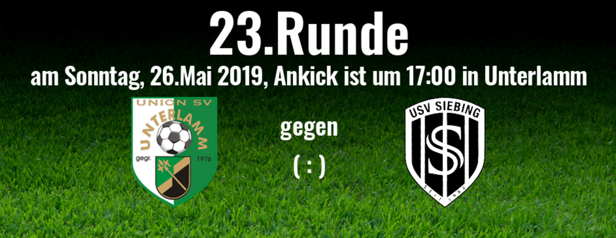 23.Runde in Unterlamm