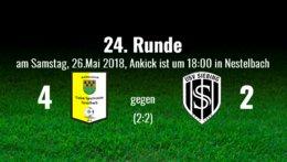 4:2 Niederlage gegen Nestelbach