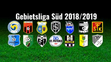Gebietsliga SÜD 2018-2019